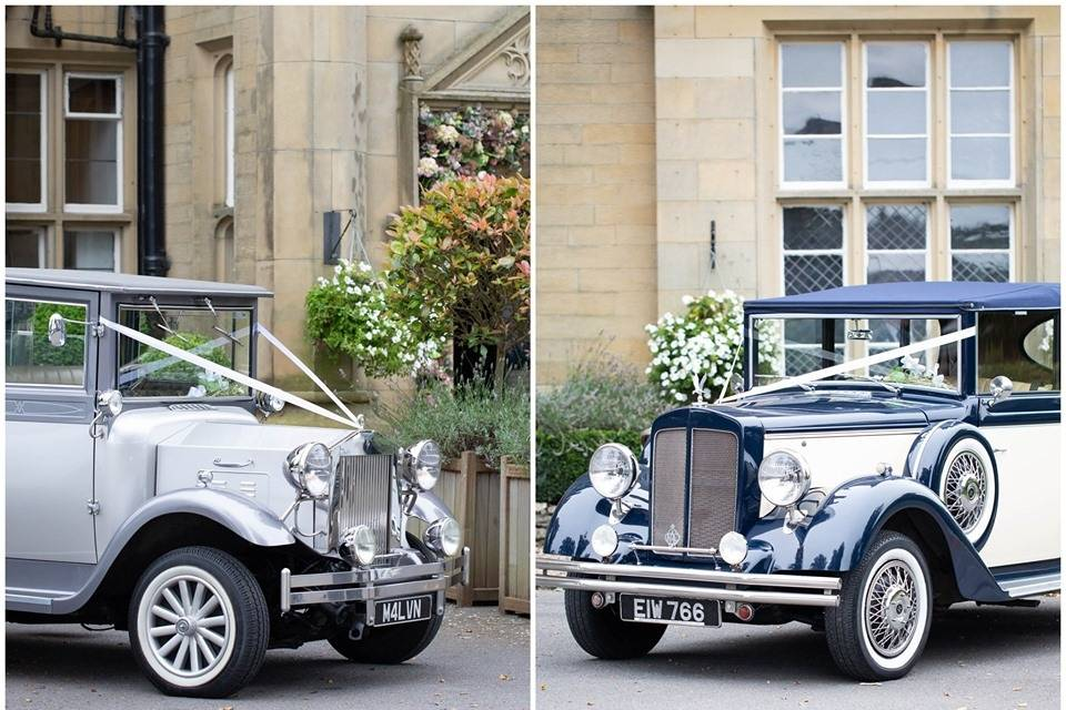 Blue and Ivory Regent Convertible