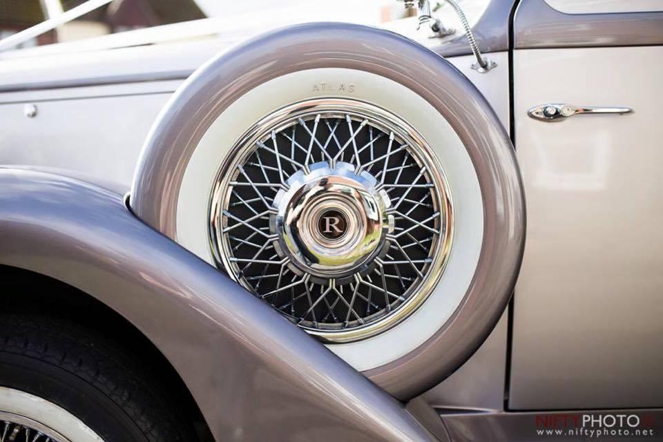 Details on car