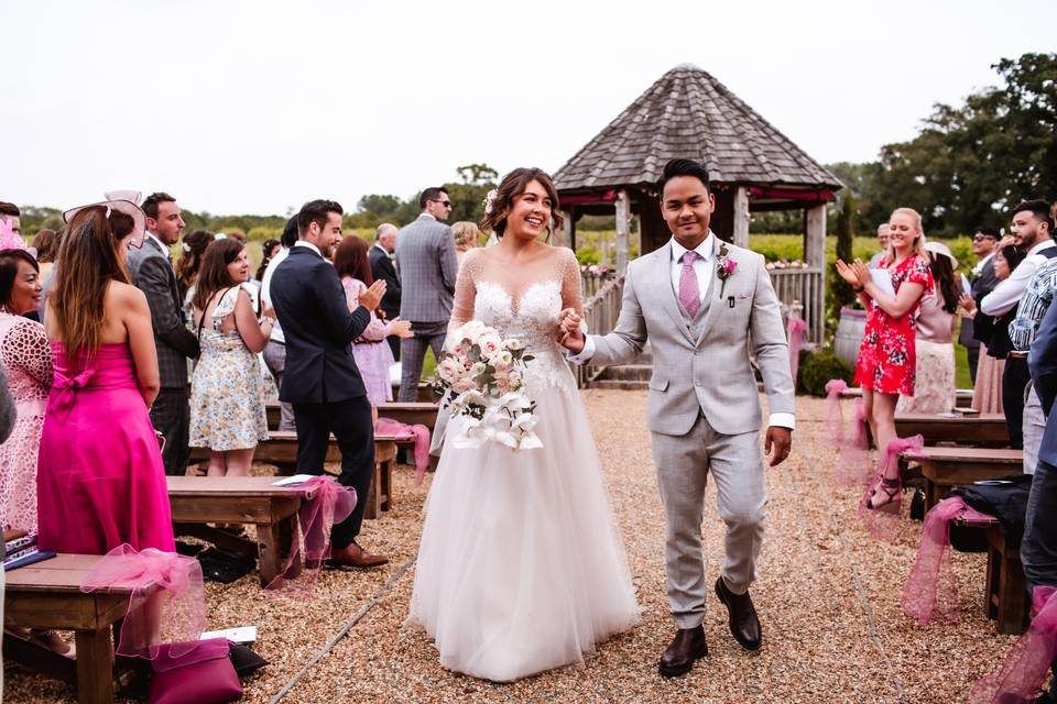 Wedding in Shedfield,Hampshire
