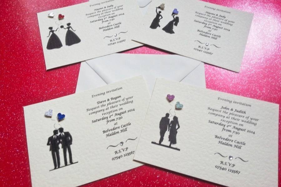 The Sweetheart Hire Invitations