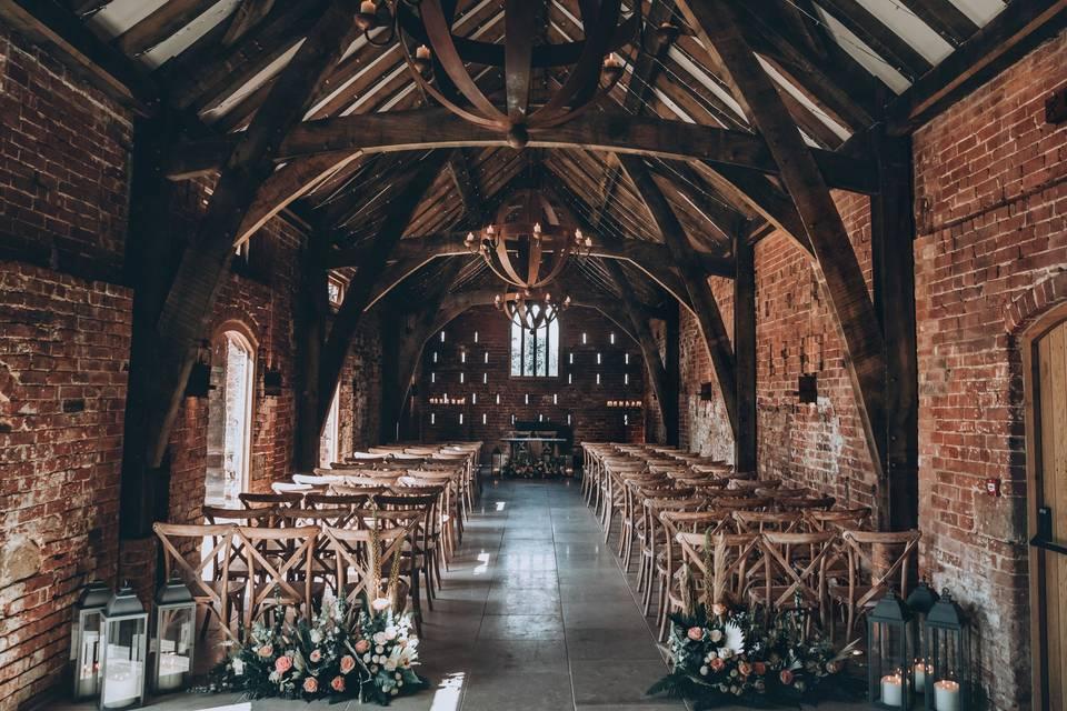 Grangefields Ceremony room