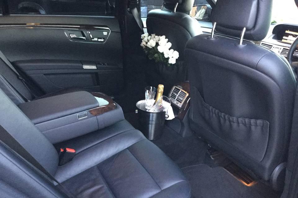 Mercedes S350L interior