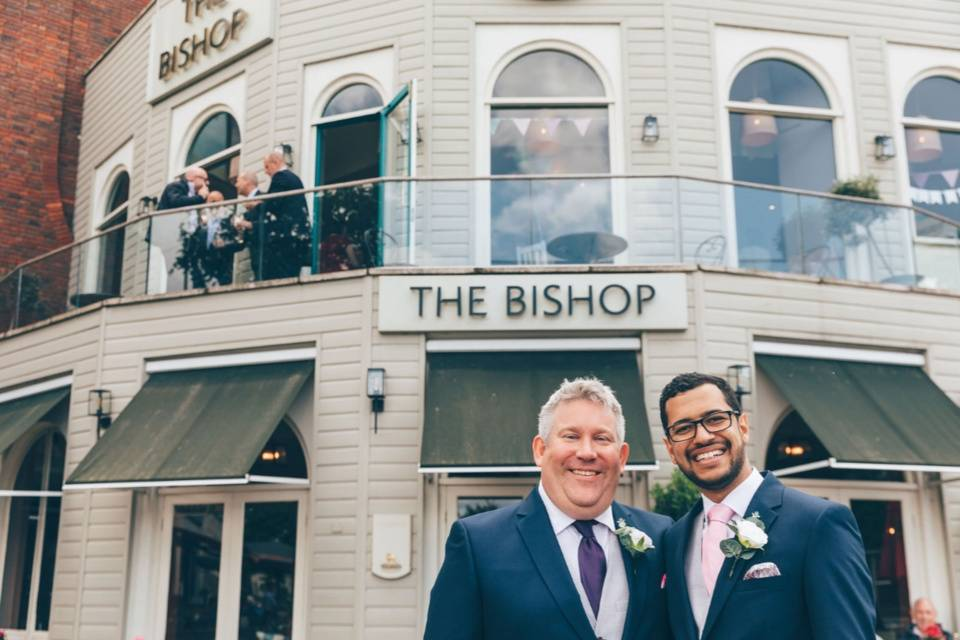 The Bishop wedding venue