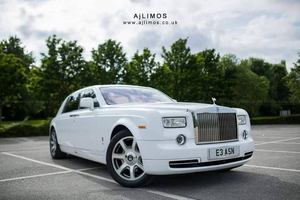 Rolls Royce Phantom AJ LIMOS