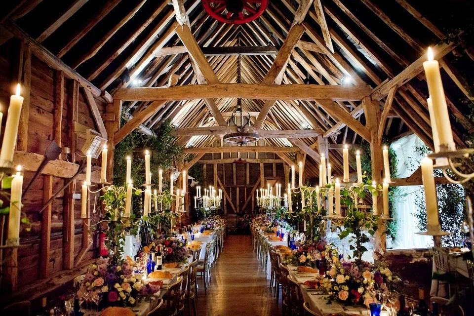 Threshing Barn Interior