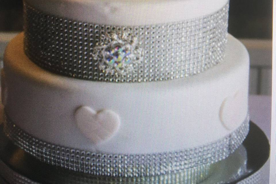 Bling and daimonds cake