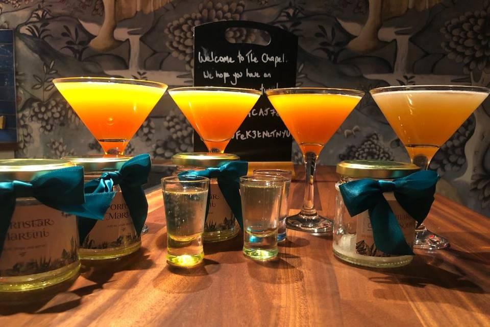 Cocktail Bar in a Jar