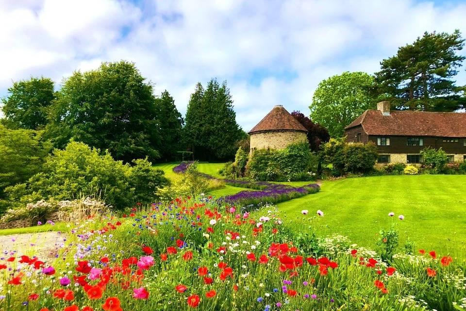 Allington Castle grounds