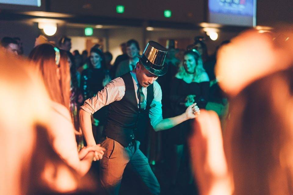 Hitting the dance floor