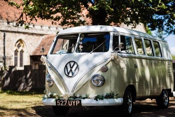 1962 VW camper van