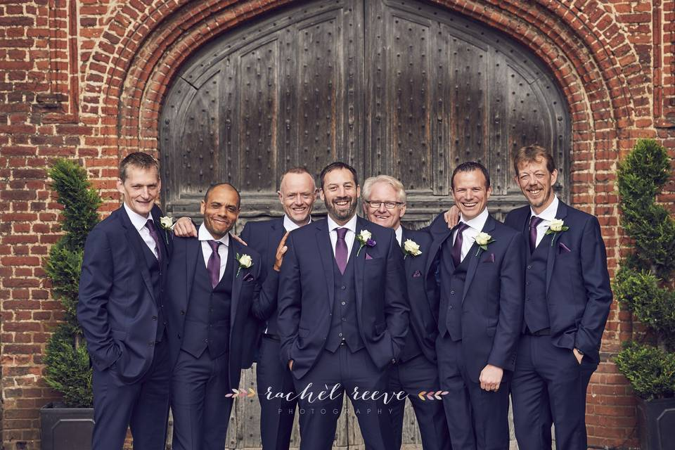 Members of the wedding party - Rachel Reeve Photography