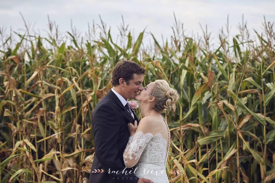 In a field - Rachel Reeve Photography