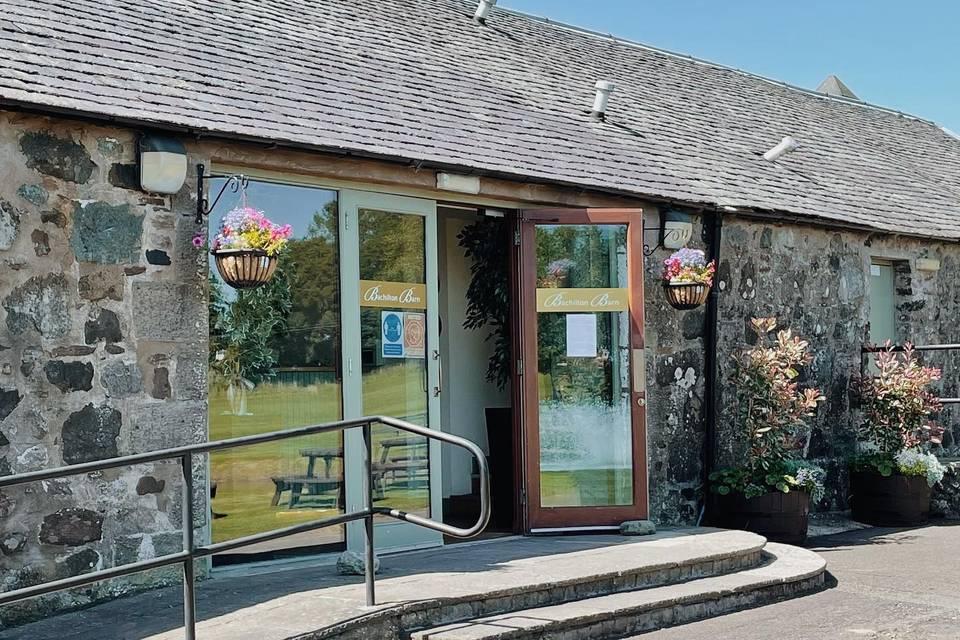 Bachilton Barn Entrance