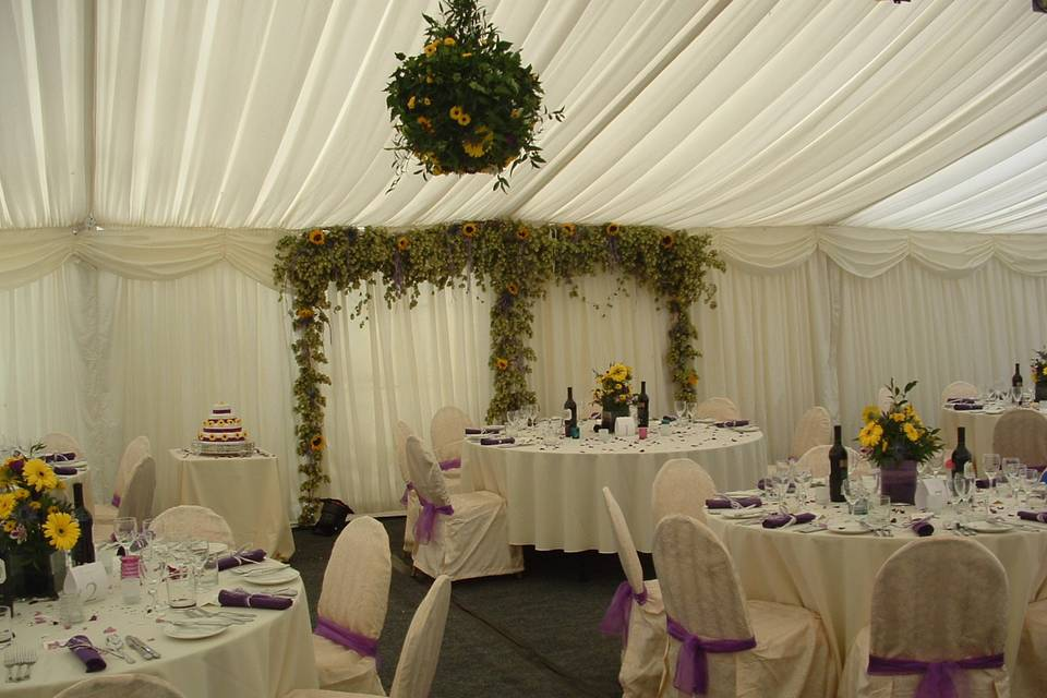 Top Table Area