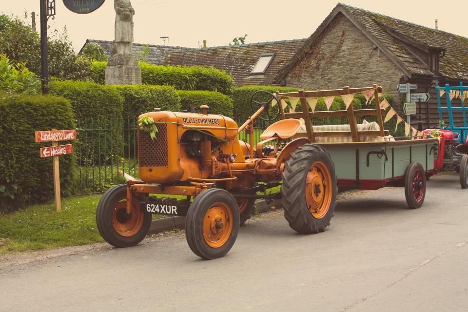 Vintage Farm Charm