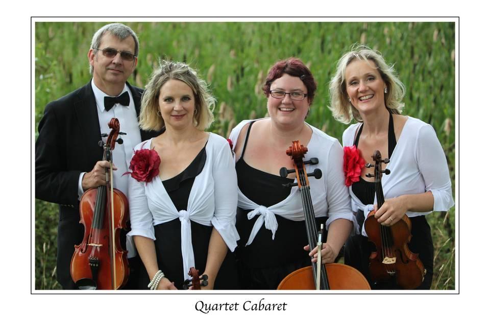 Quartet players