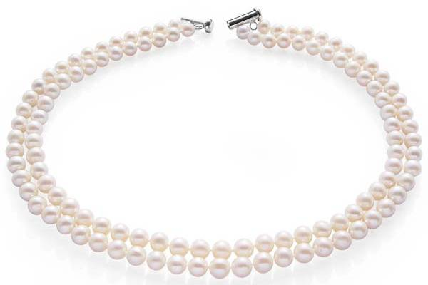 Wide range of pearl necklaces