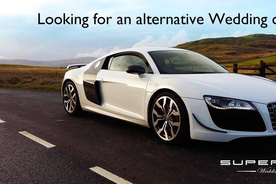 Audi R8 Wedding Car hire