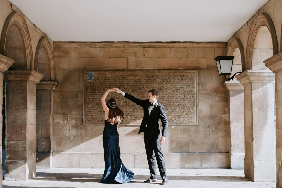 Couple dancing - Anna Mathilda Photography