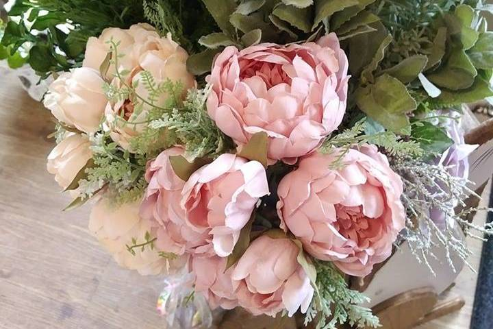 Vintage Silk Flowers