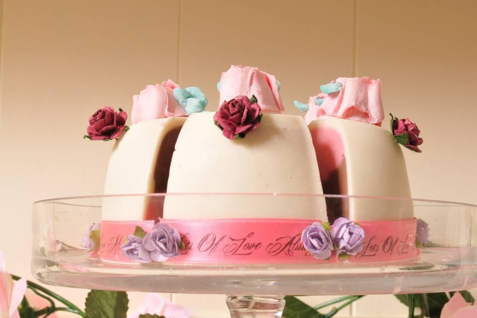 Bomboniera soap cake