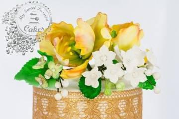 Hand made sugar flowers