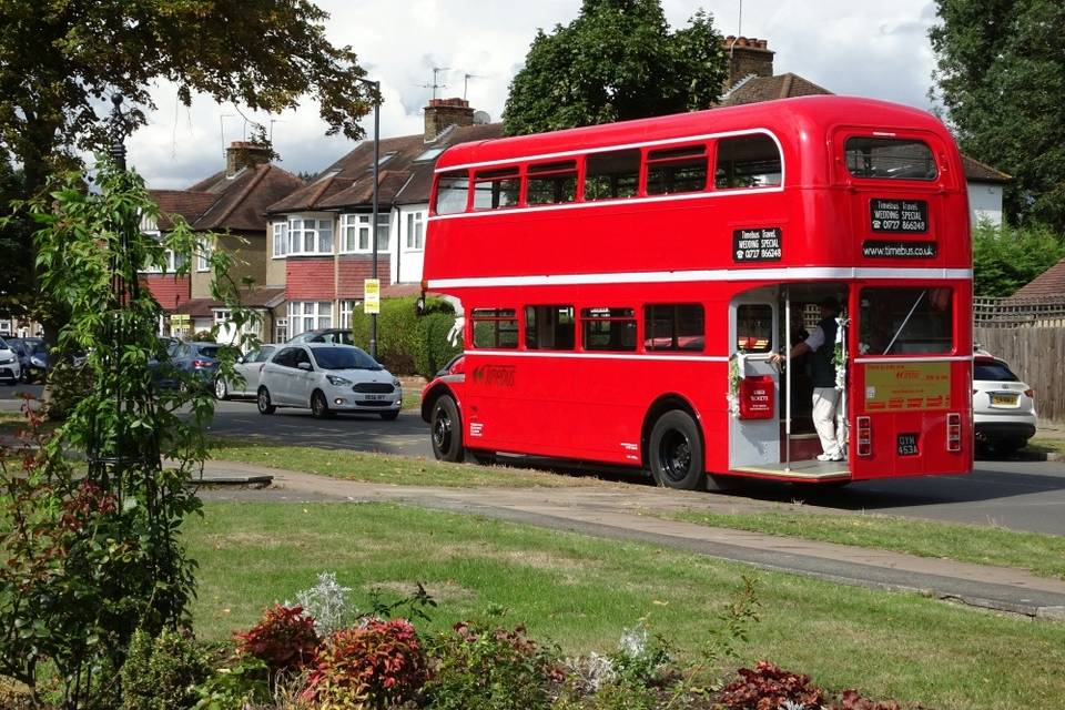 Routemaster back view
