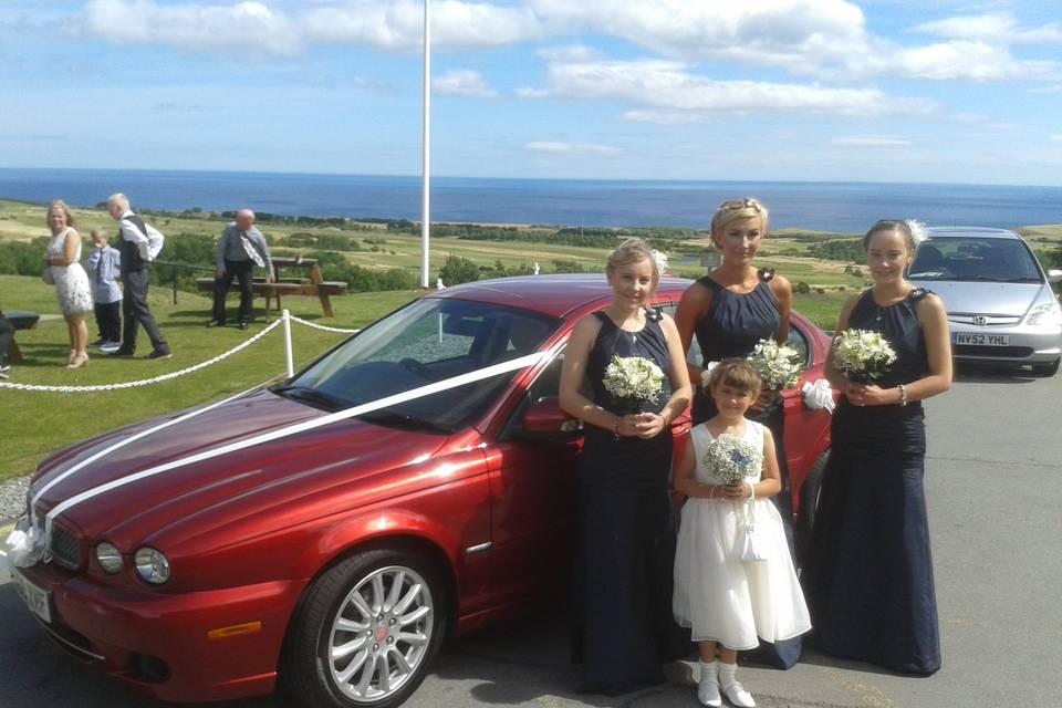 Bridesmaids - Hunley Hall