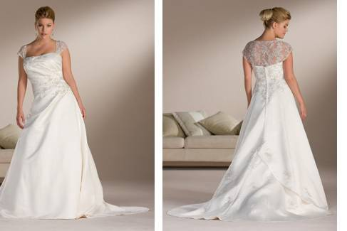 Daisy Love Plus Size Bridal