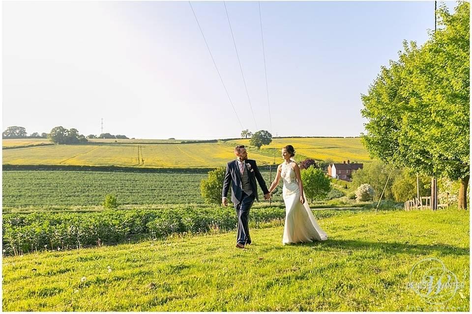 Countryside wedding - Denise Winter Photography