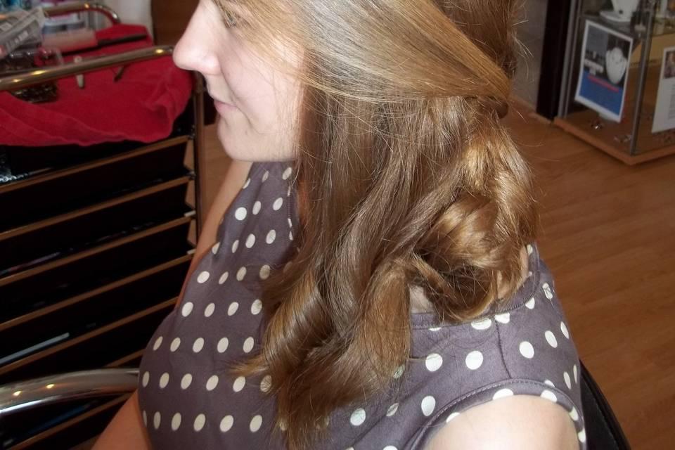 Bridal Hair Elegance
