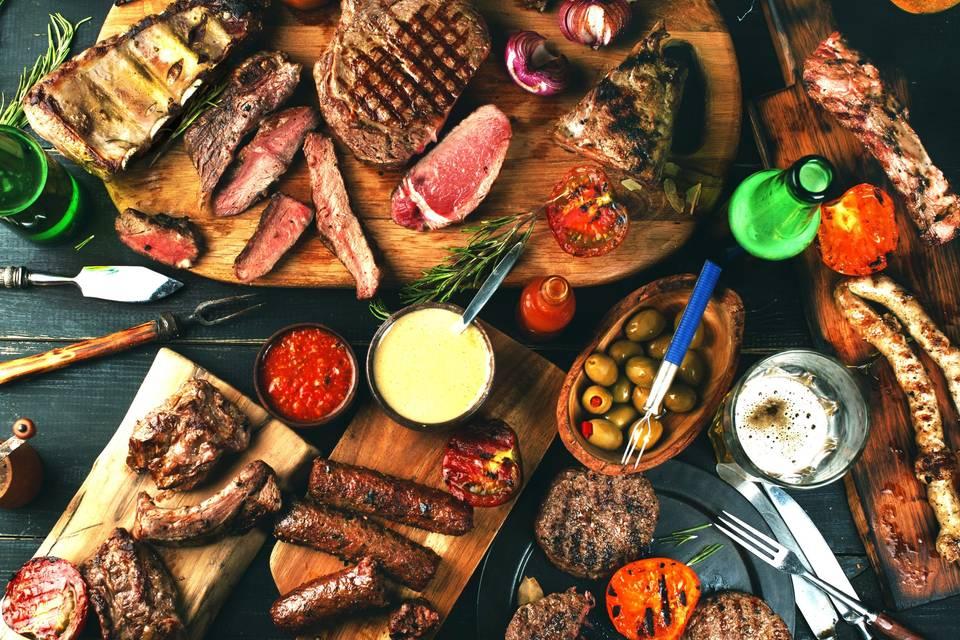 BBQ sharing board