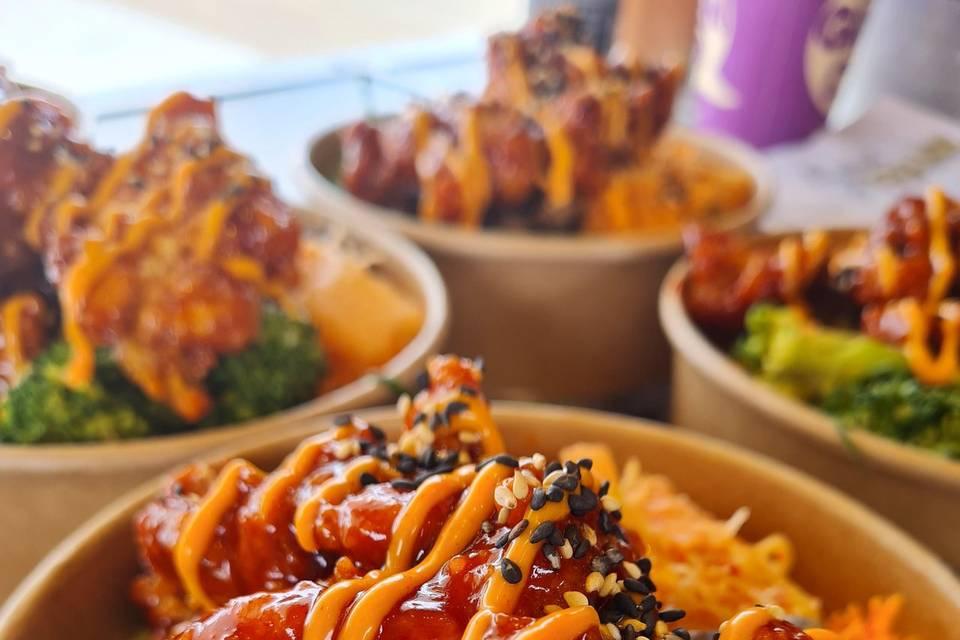 Korean Chicken Chef Bowl