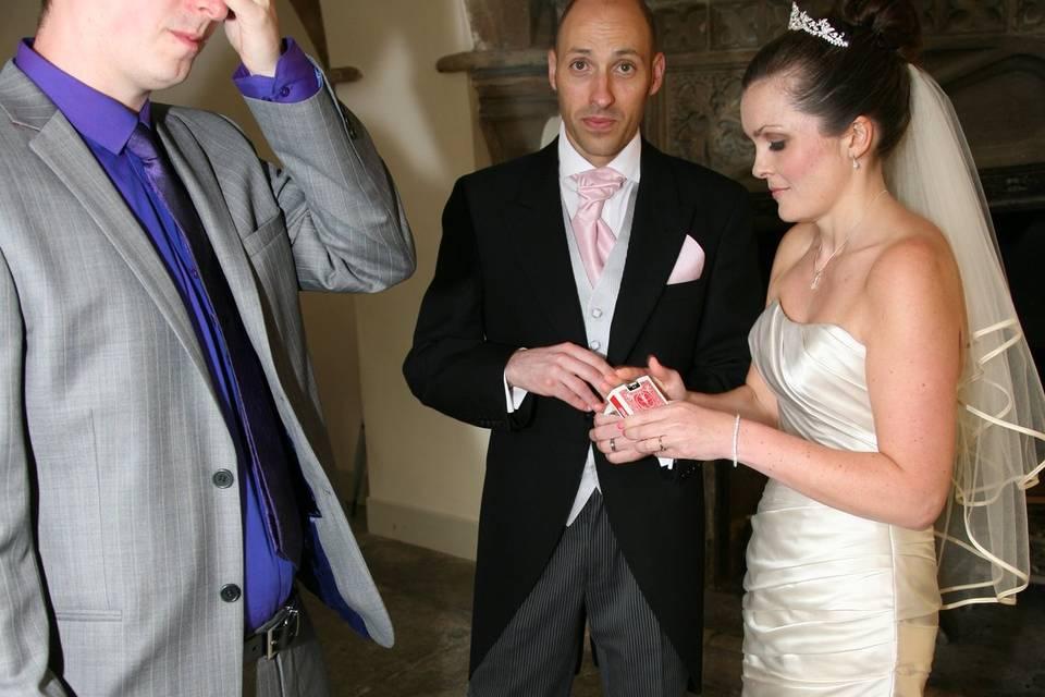 SimonSi wedding magician