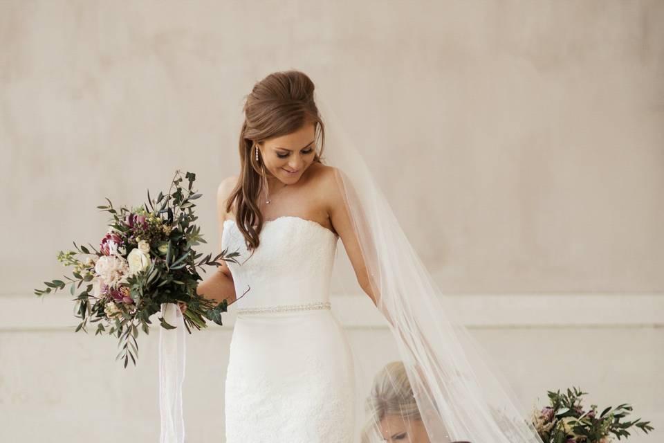 Bridal Prep at Castle Coole
