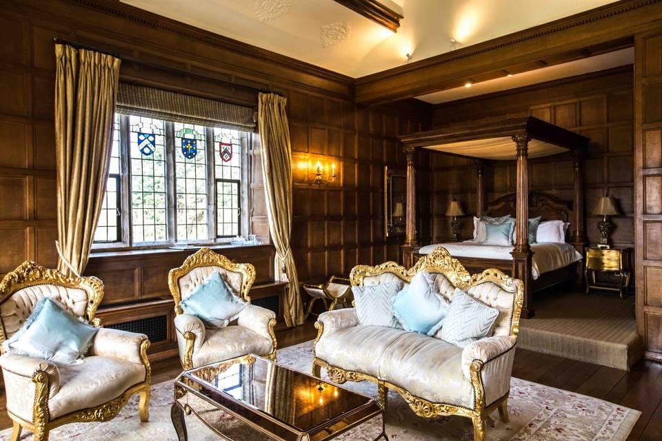 Hengrave Hall Bridal Suite