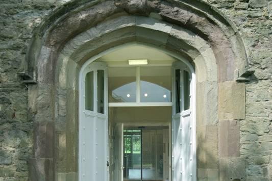 Entrance to the Beacon Rooms