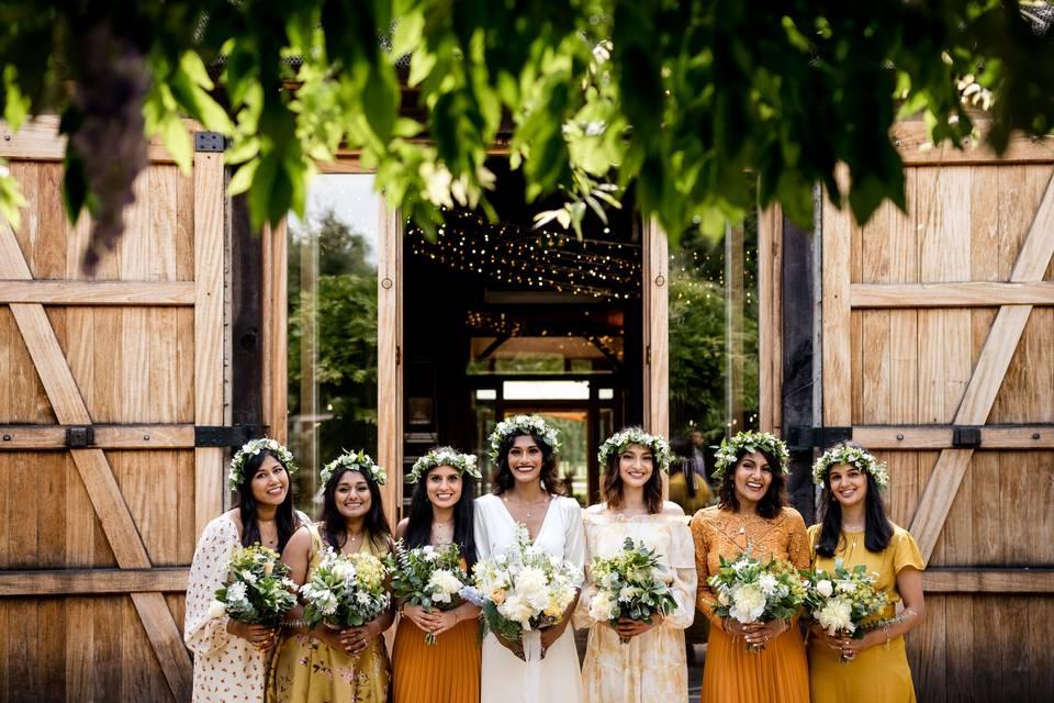 Tythe Bridesmaids