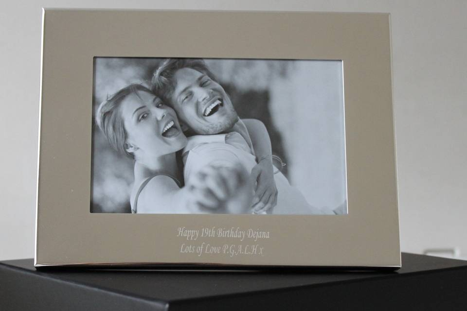 Silver Plated 6x4 Classic Photo Frame