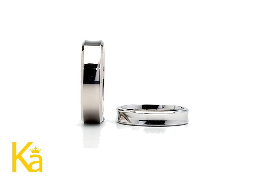 Diamond cut edge bands
