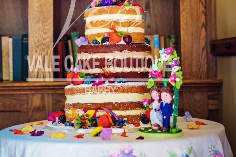 Beautiful naked cakes