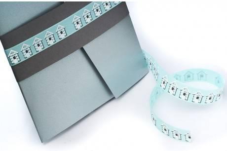 Blue seaside ribbon