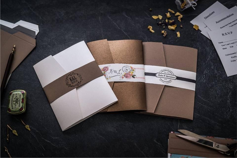 Designer diy invitations