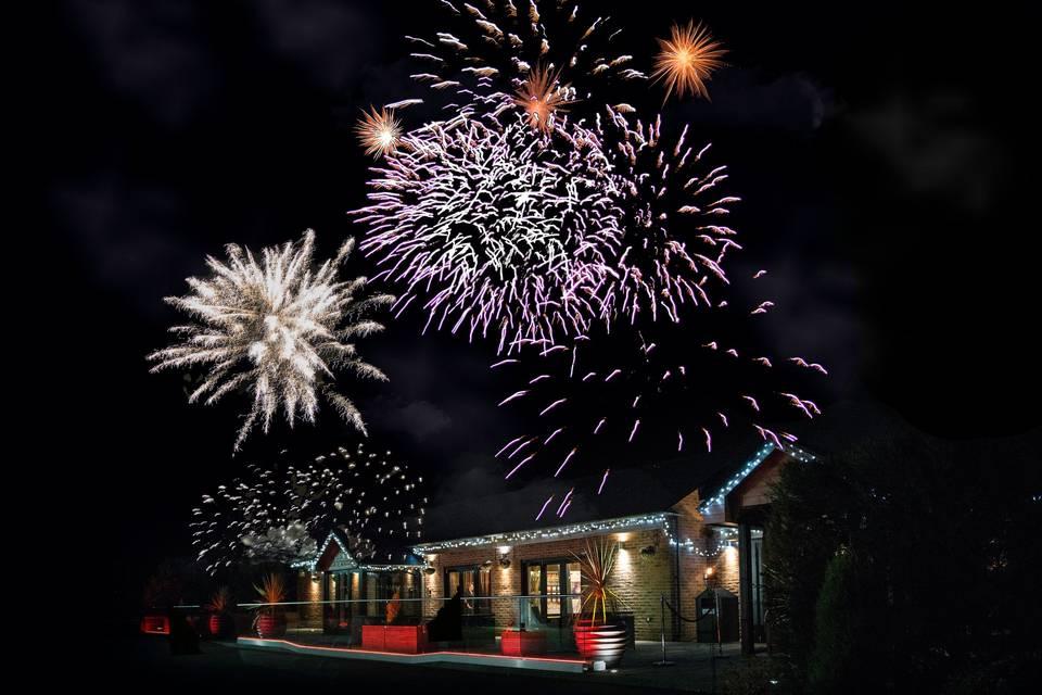 Fireworks Garden Rooms
