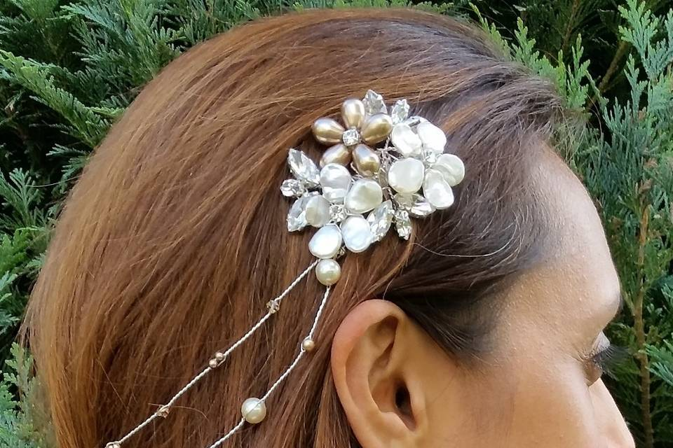 Christa Hair Vine with Combs
