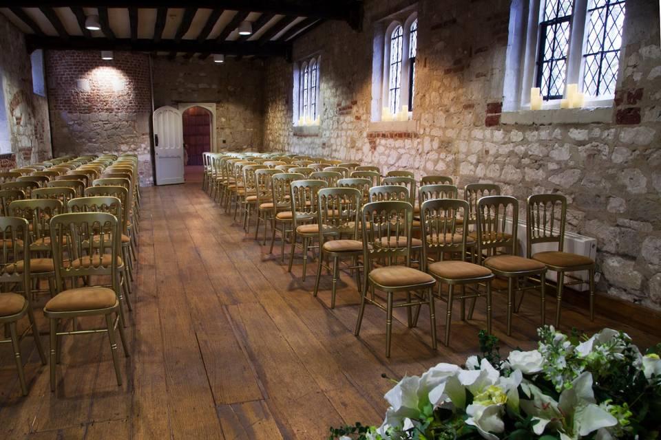 Tudor Kitchen Ceremony