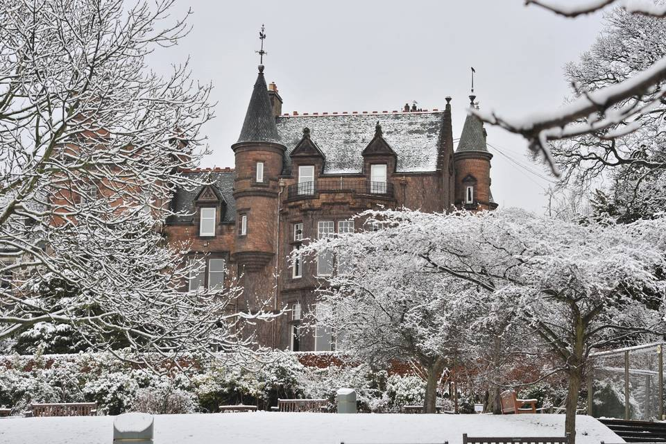 Mansion House in Winter