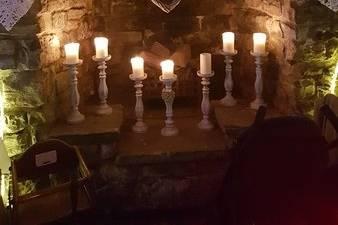 Candlelit decor