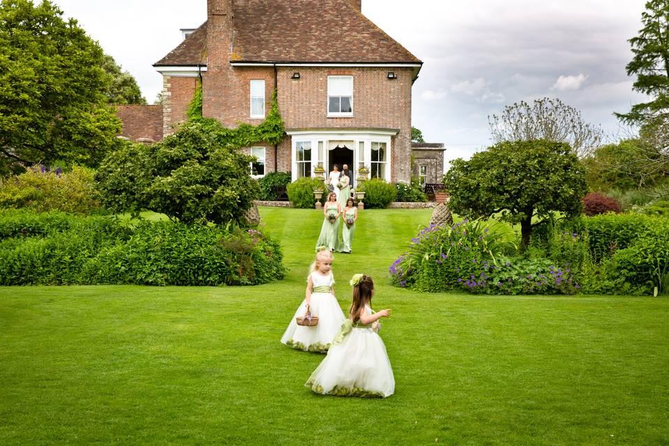 Beautiful Dorset wedding
