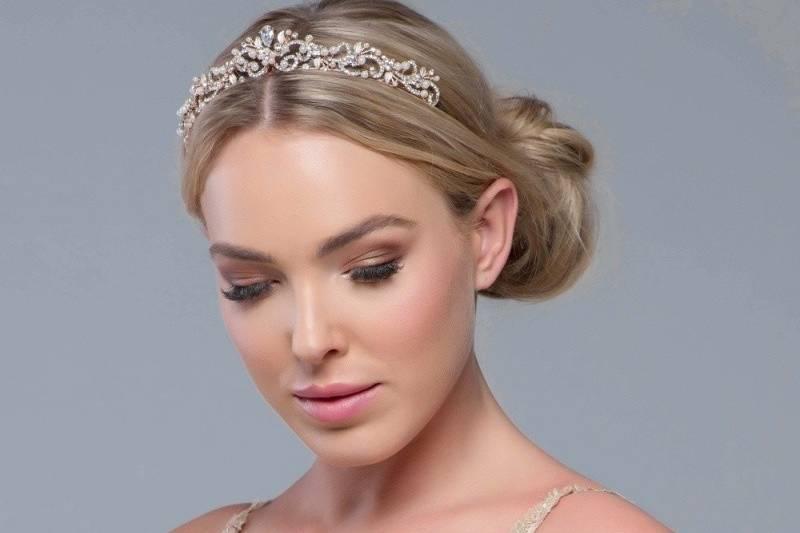 Romantic elegance silver tiara